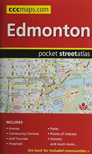 Edmonton AB, Pocket Street Atlas