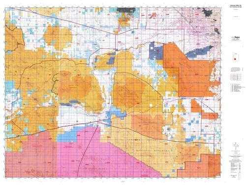 us topo - Arizona GMU 39 Hunt Area / Game Management Units (GMU) Map - Wide World Maps & MORE! - Book - Wide World Maps & MORE! - Wide World Maps & MORE!
