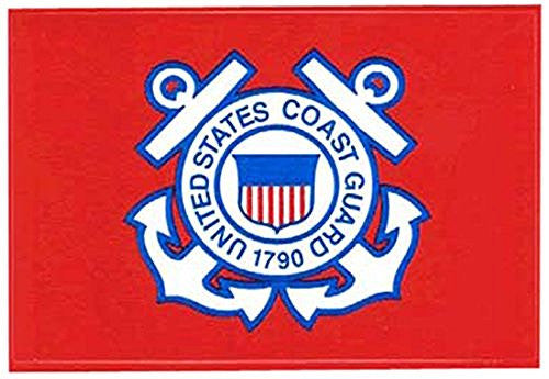 Flag It Coast Guard Non-Reflective Decal