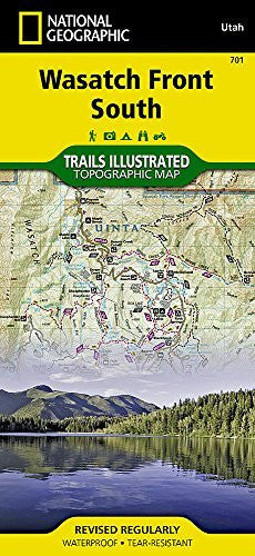 Uinta National Forest, Timpanogos / Lone Peak / Nebo (National Geographic Trails Illustrated Map)