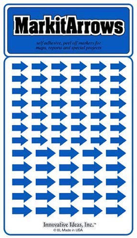 Assorted Blue Arrows