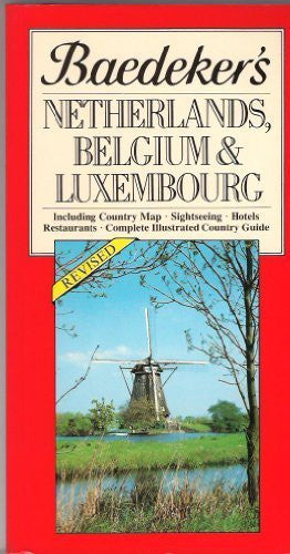 us topo - Baedeker's Netherlands, Belgium, & Luxembourg - Wide World Maps & MORE! - Book - Wide World Maps & MORE! - Wide World Maps & MORE!