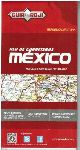 Mexico Mapa de Carreteras - Wide World Maps & MORE! - Book - Wide World Maps & MORE! - Wide World Maps & MORE!