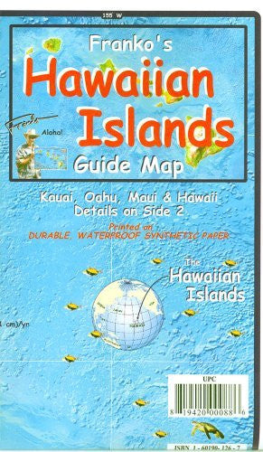 Franko's Hawaiian Islands-Guide Map