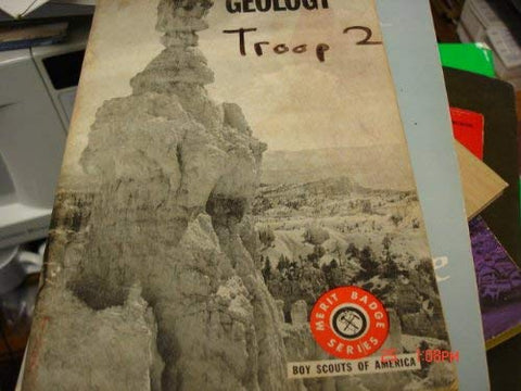 Geology Boy Scouts of America Merit Badge Series
