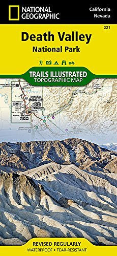 Death Valley National Park (National Geographic Trails Illustrated Map)