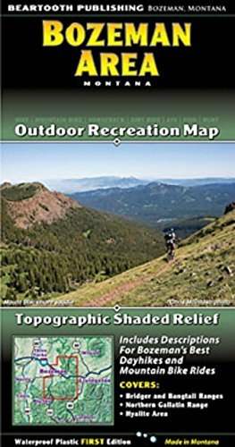 Beartooth Publishing Bozeman Area - Wide World Maps & MORE! - Lawn & Patio - Beartooth - Wide World Maps & MORE!