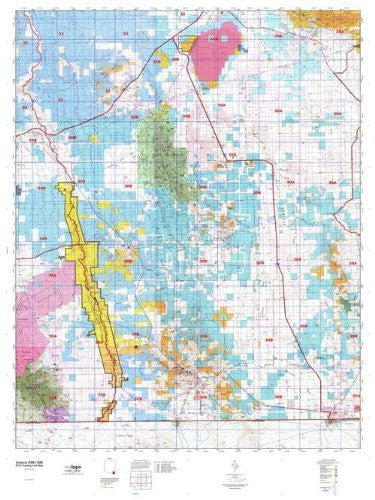 Arizona GMU 30B Hunt Area / Game Management Units (GMU) Map