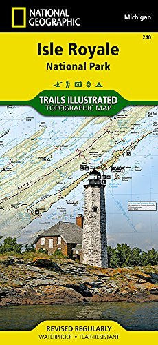 us topo - Isle Royale National Park (National Geographic Trails Illustrated Map) - Wide World Maps & MORE! - Book - National Geographic Books - Wide World Maps & MORE!