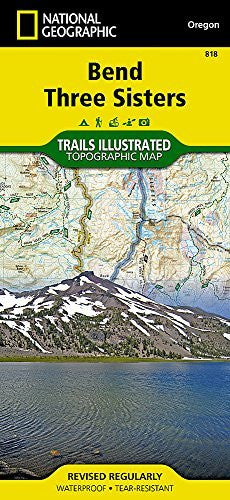 Bend, Three Sisters (National Geographic Trails Illustrated Map)