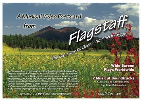 us topo - A Musical Video Postcard from Flagstaff: The Gateway to Scenic Northern Arizona - Wide World Maps & MORE! - DVD - Digital Video Destinations - Wide World Maps & MORE!