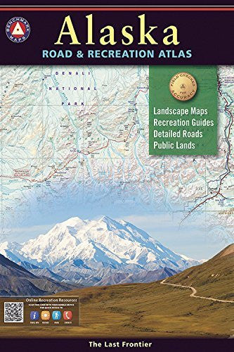 us topo - Alaska Benchmark Road & Recreation Atlas - Wide World Maps & MORE! - Map - Benchmark Maps - Wide World Maps & MORE!