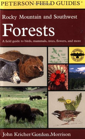 A Field Guide to Rocky Mountain and Southwest Forests (Peterson Field Guide Series) - Wide World Maps & MORE! - Book - Houghton Mifflin (Trade) - Wide World Maps & MORE!