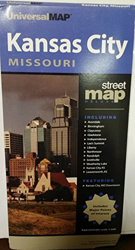 Kansas City Map - Wide World Maps & MORE! - Book - Wide World Maps & MORE! - Wide World Maps & MORE!