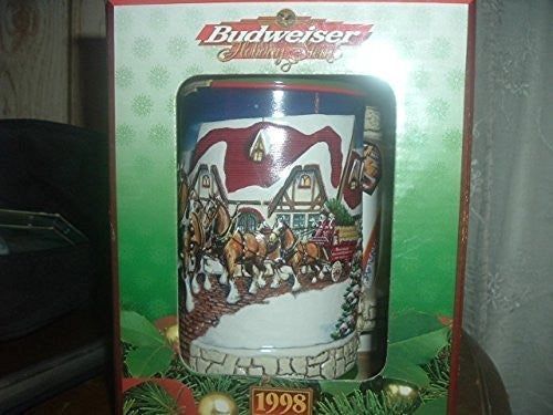 Budweiser 1998 Grants Farm Holiday Stein by Budweiser
