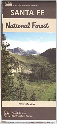 us topo - Map: Santa Fe National Forest - Wide World Maps & MORE! - Book - Wide World Maps & MORE! - Wide World Maps & MORE!