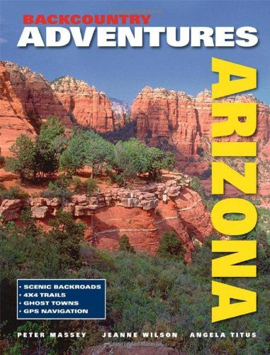 us topo - Backcountry Adventures Arizona (New Hardcover Edition) - Wide World Maps & MORE! - Book - Brand: Adler Publishing Co - Wide World Maps & MORE!