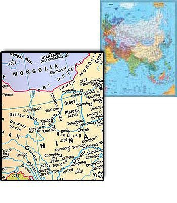 us topo - Asia Political - Wide World Maps & MORE! - Book - Wide World Maps & MORE! - Wide World Maps & MORE!
