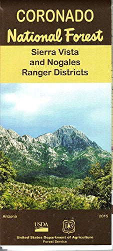 us topo - Coronado National Forest: Sierra Vista and Nogales Ranger Districts - Wide World Maps & MORE! - Book - Wide World Maps & MORE! - Wide World Maps & MORE!