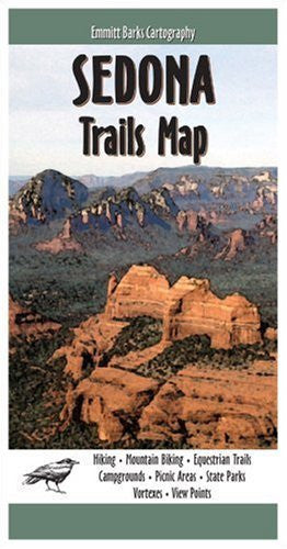 us topo - Sedona Trails Map - Wide World Maps & MORE! - Book - Emmet Barks Cartography - Wide World Maps & MORE!