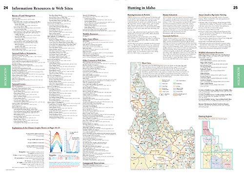 Idaho Road & Recreation Atlas - Wide World Maps & MORE! - Map - Benchmark Maps - Wide World Maps & MORE!