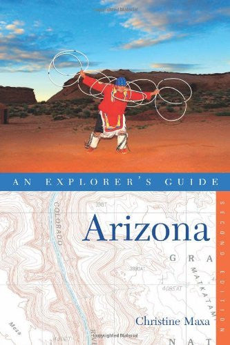 us topo - Explorer's Guide Arizona (Second Edition)  (Explorer's Complete) - Wide World Maps & MORE! - Book - Brand: Countryman Press - Wide World Maps & MORE!