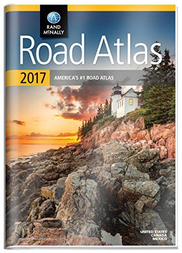 us topo - Rand McNally 2017 Gift Road Atlas (Durable vinyl cover) (Rand Mcnally Road Atlas United States/ Canada/Mexico (Gift Edition)) - Wide World Maps & MORE! - Book - Ingramcontent - Wide World Maps & MORE!