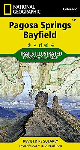 Pagosa Springs, Bayfield (National Geographic Trails Illustrated Map)
