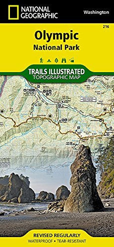 us topo - Olympic National Park (National Geographic Trails Illustrated Map) - Wide World Maps & MORE! - Book - National Geographic - Wide World Maps & MORE!