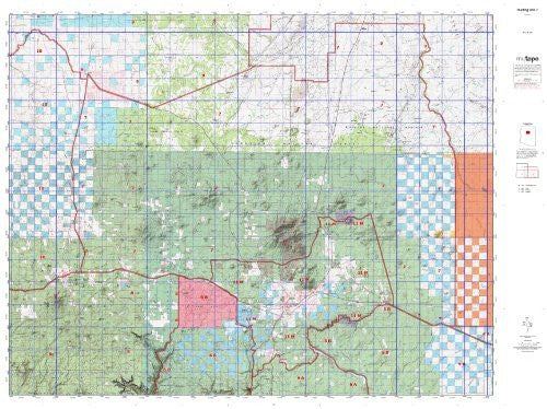 us topo - Hunting Unit 7 (Western State Hunt Area Maps, AZ-7) - Wide World Maps & MORE! - Book - Wide World Maps & MORE! - Wide World Maps & MORE!