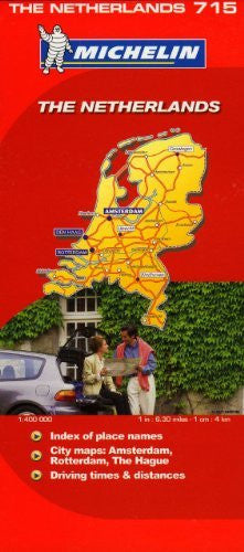 us topo - Michelin Map Netherlands 715 (Maps/Country (Michelin)) - Wide World Maps & MORE! - Book - Michelin - Wide World Maps & MORE!