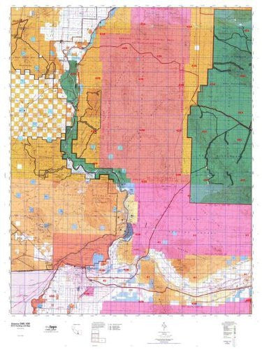 us topo - Arizona GMU 43B Hunt Area / Game Management Units (GMU) Map - Wide World Maps & MORE! - Book - Wide World Maps & MORE! - Wide World Maps & MORE!