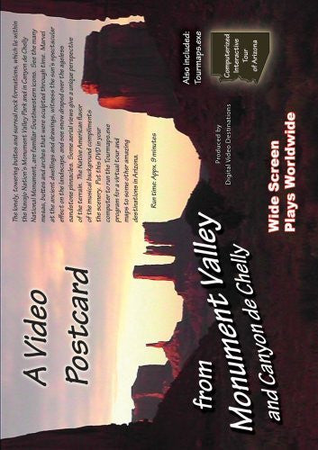 us topo - A Video Postcard from Monument Valley and Canyon de Chelly - Wide World Maps & MORE! - DVD - Wide World Maps & MORE! - Wide World Maps & MORE!