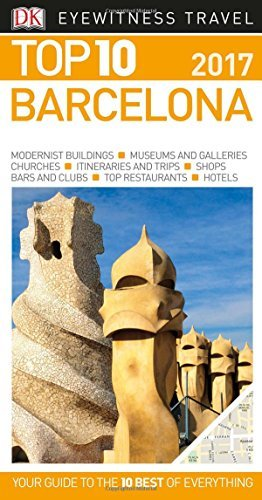 Top 10 Barcelona (Eyewitness Top 10 Travel Guide) - Wide World Maps & MORE! - Book - DK Eyewitness Travel - Wide World Maps & MORE!