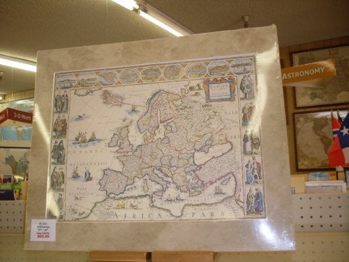 Antique Map Reproduction of Europe