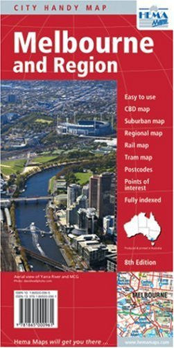 Melbourne and Region Handy Map