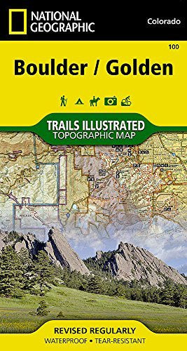 National Geographic Trails Illustrated - Boulder / Golden - CO