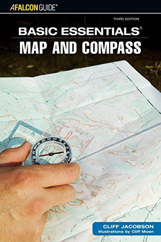 us topo - Basic Essentials Map & Compass, 3rd (Basic Essentials Series) - Wide World Maps & MORE! - Book - Jacobson Hat Company - Wide World Maps & MORE!