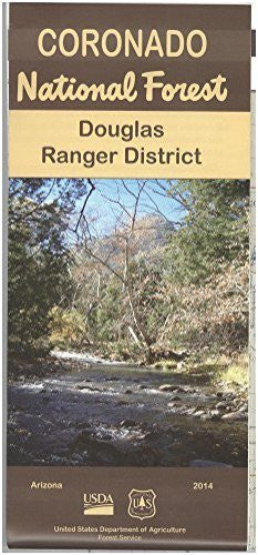 Douglas Ranger District, Coronado National Forest Map - Wide World Maps & MORE! - Map - National Forest Service - Wide World Maps & MORE!