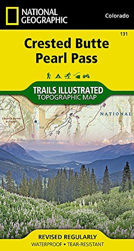us topo - Crested Butte, Pearl Pass (National Geographic Trails Illustrated Map) - Wide World Maps & MORE! - Book - National Geographic - Wide World Maps & MORE!