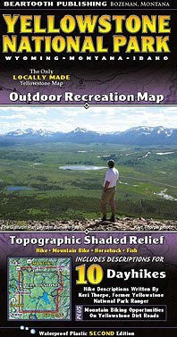 us topo - Yellowstone National Park Recreation Map - Wide World Maps & MORE! - Book - Beartooth Publishing - Wide World Maps & MORE!