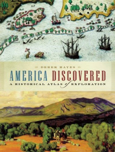 us topo - America Discovered: A Historical Atlas of North American Exploration - Wide World Maps & MORE! - Book - Brand: Douglas McIntyre - Wide World Maps & MORE!