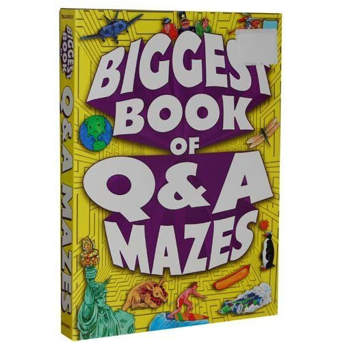 Biggest Book Of Q & A Mazes - Wide World Maps & MORE! - Book - Wide World Maps & MORE! - Wide World Maps & MORE!