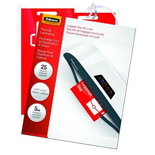 Fellowes Hot Laminating Pouches