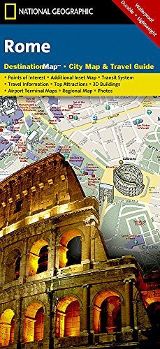 us topo - Rome (National Geographic Destination City Map) - Wide World Maps & MORE! - Book - Universal Map - Wide World Maps & MORE!