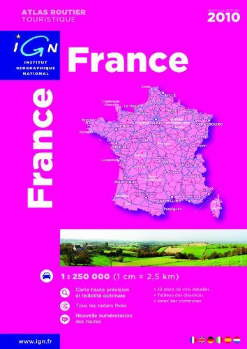 us topo - France Atlas 2010: IGN-A95047 - Wide World Maps & MORE! - Book - Wide World Maps & MORE! - Wide World Maps & MORE!