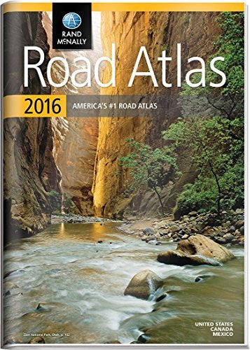 us topo - Rand McNally 2016 Gift Road Atlas - Wide World Maps & MORE! - Map - Rand McNally - Wide World Maps & MORE!