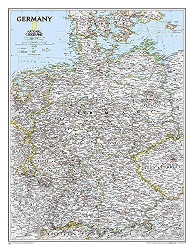 Germany Classic [Tubed] (National Geographic Reference Map)