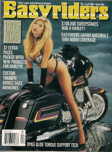 EASYRIDERS APRIL 1995 GRAND NATIONALS 1994 RODEO DYNA GLIDE TORQUE SUPPORT TECH CUSTOM TRIUMPH AND MORE! - Wide World Maps & MORE! - Book - Wide World Maps & MORE! - Wide World Maps & MORE!