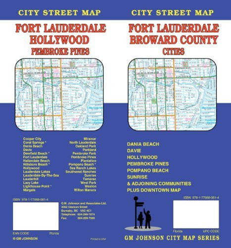 Fort Lauderdale, FL City Street Map - Wide World Maps & MORE! - Book - Wide World Maps & MORE! - Wide World Maps & MORE!